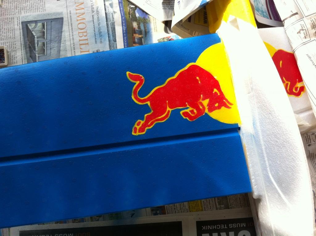 Red Bull Parkmaster Tragfläche