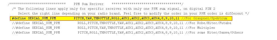 MultiWii Arduino 1.0