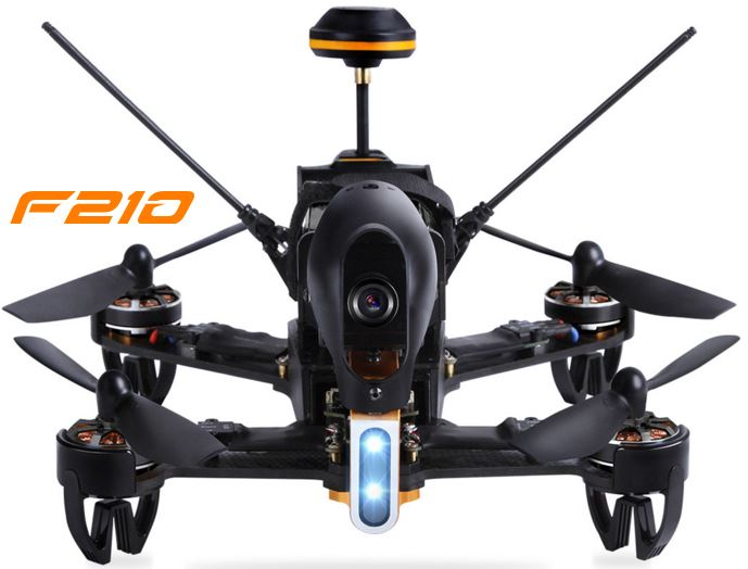 F210 - Walkera — The world's most professional consumer UAV of racing
