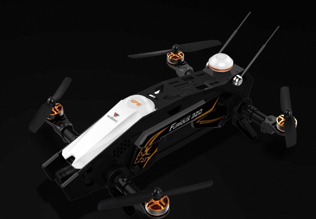 Furious 320 - Walkera —The world's most professional consumer UAV of racing